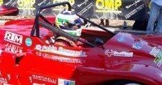 Fabio Emanuele firma la prima manche dello Slalom Città di Osilo
