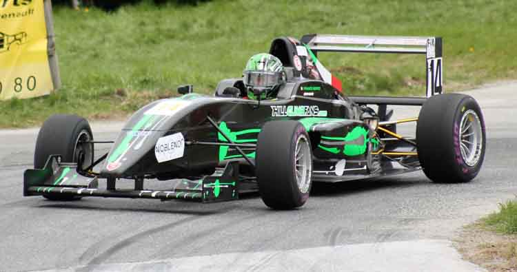 Franco Bertò e Mario Tacchini portacolori Speed Motor al 49° Trofeo Vallecamonica