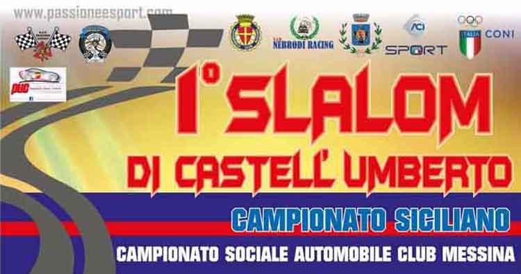 Il 28 Luglio il 1° Slalom di Castell'Umberto