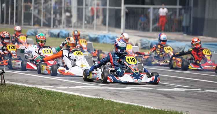 Grandi protagonisti a Sarno per rientrare fra i finalisti della terza prova del Campionato Italiano ACI Karting
