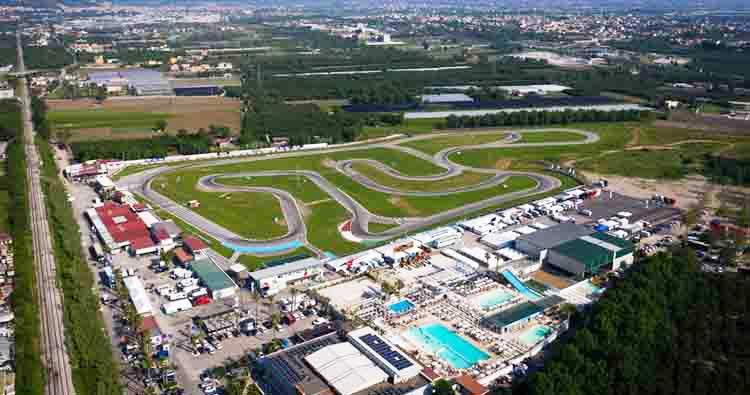 Al via a Sarno la terza prova del Campionato Italiano ACI Karting