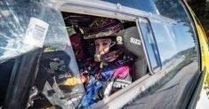Rachele Somaschini in gara al 7° Rally Roma Capitale