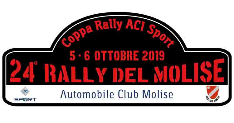 24° Rally del Molise il 5 e 6 ottobre 2019