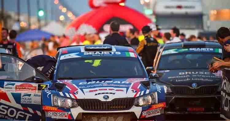 I più forti d'Europa al 7° Rally di Roma Capitale