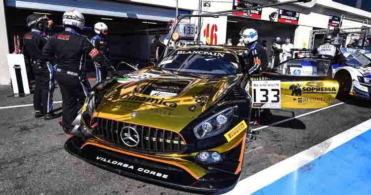 Villorba Corse 24 ore su 24, dopo Le Mans ecco Spa con la Mercedes!