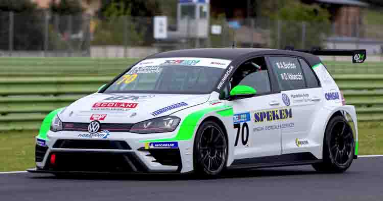 Elite Motorsport porta la Golf GTI TCR all'esordio in salita a Gubbio
