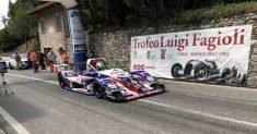 Sergio Farris su Osella PA2000 unico pilota della Speed Motor alla 61ª Monte Erice