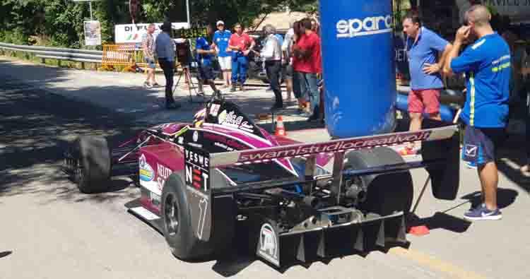 La Speed Motor vince la coppa per le scuderie alla 57ª Cronoscalata Svolte di Popoli