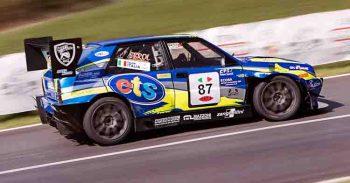 Piloti Speed Motor delle vetture turismo in gara al 54° Trofeo Luigi Fagioli