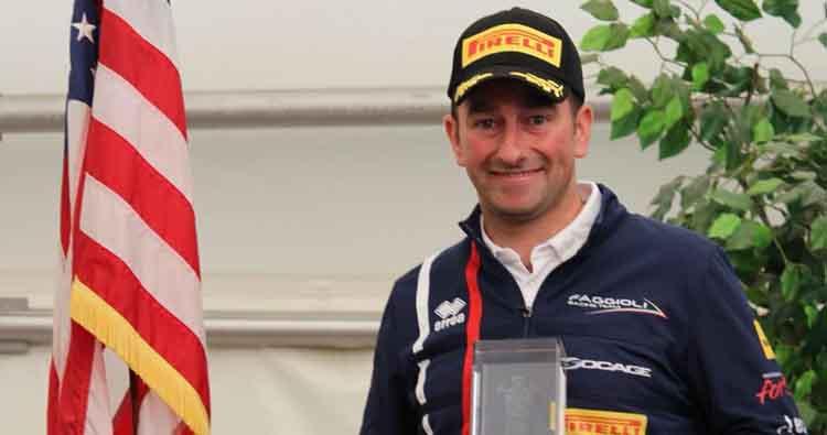 Simone Faggioli per Autoservice Sport alla 58ª Cronoscalata Alghero- Scala Piccada