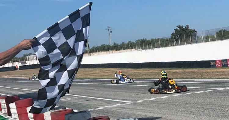 A Binetto grande spettacolo di Karting