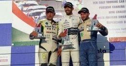 Vallelunga, Gara 1. Riccardo Ponzio vince e consolida la leadership nel Campionato Italiano Sport Prototipi