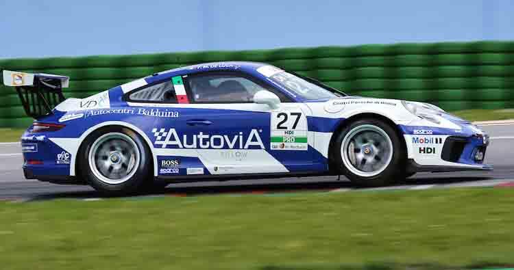Gara di casa per AB Racing a Vallelunga nella Carrera Cup Italia