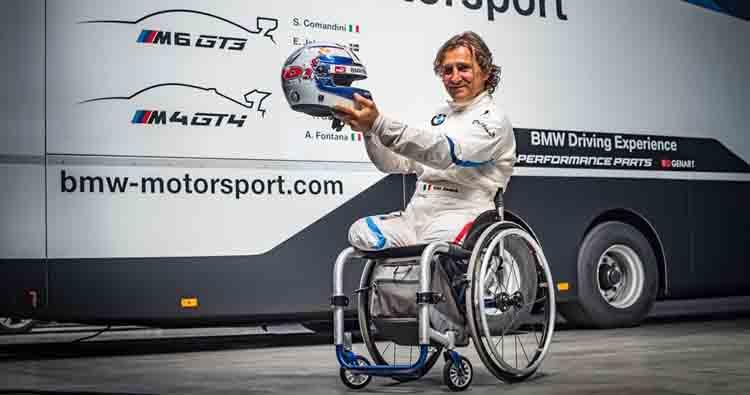Il grande Alessandro Zanardi, sarà il protagonista assoluto del gran finale Endurance al Mugello