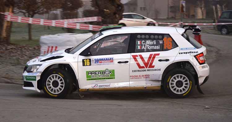 Merli in gara nel 38° Rally Aci Como