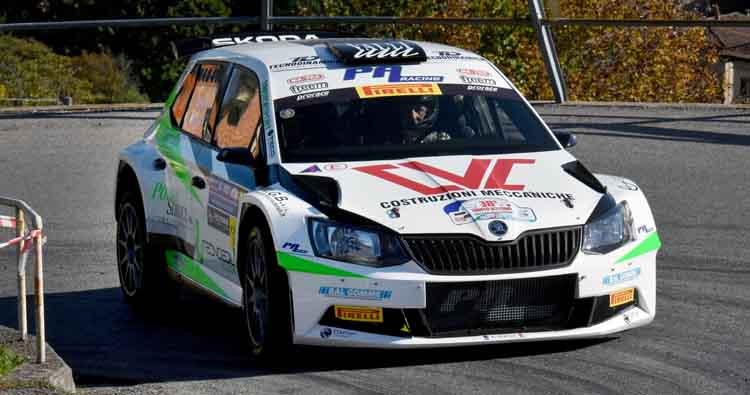 Christian Merli costretto al ritiro nell'ultima speciale a Como