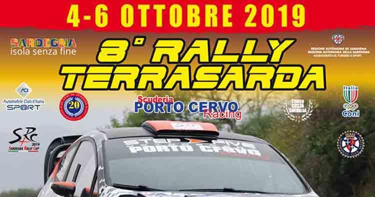 Rally Terra Sarda: tantissimi equipaggi iscritti alla gara in programma dal 4 al 6 ottobre