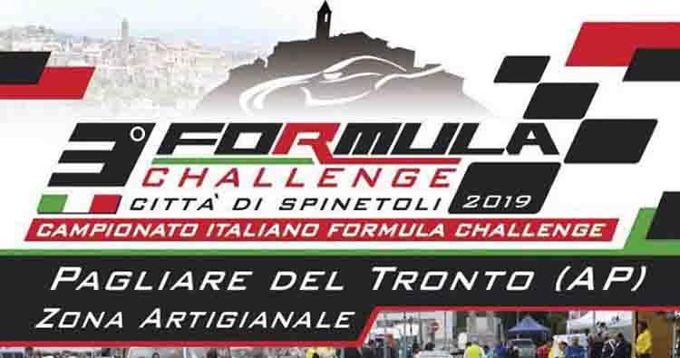 Domenica 6 ottobre il 3° Formula Challenge Città di Spinetoli
