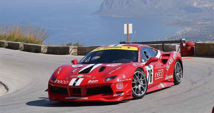"""Superchallenge a Pedavena con le due Ferrari """"Vincenti"""""""