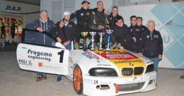Parretta e Giani si laureano campioni nella BMW 318 RS all'ultima gara nell'Autodromo dell'Umbria