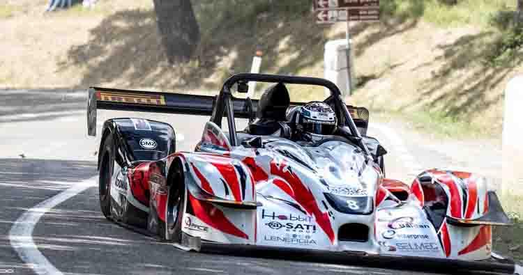 Denny Zardo vince il Trofeo Italiano Velocità Montagna Nord