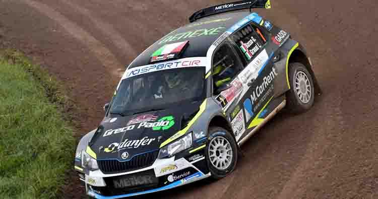 Giandomenico Basso e Lorenzo Granai vincono il Campionato Italiano Rally 2019 al Tuscan Rewind
