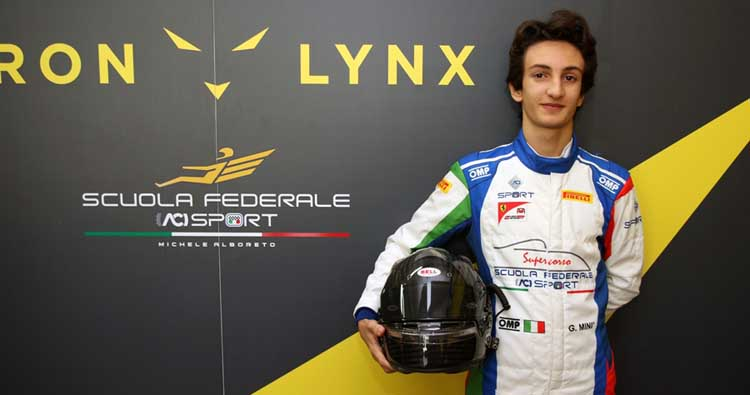 16° Supercorso Federale ACI Sport Velocità, tra i giovanissimi talenti la spunta il siciliano Gabriele Minì.