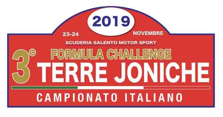 """Il 3° Formula Challenge """"Terre Joniche"""" rinviato al 1° dicembre"""