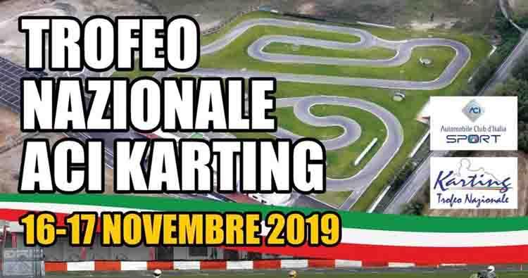 A Viterbo il 16-17 Novembre il Trofeo Nazionale ACI Karting