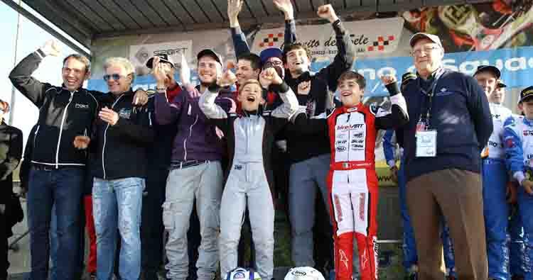 Le Marche conquistano il titolo karting a Battipaglia nel Campionato Italiano per Squadre Regionali