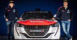 Paolo Andreucci e Anna Andreussi di nuovo insieme nel Campionato Italiano Rally per il debutto della nuova Peugeot 208 Rally ufficiale