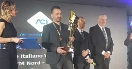 Angelo Mercuri premiato al Monza Eni Circuit