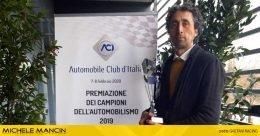 Michele Mancin festeggia a Monza il bis nel TIVM