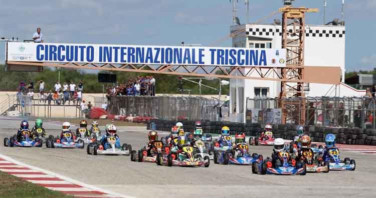 Il 5 Aprile a Triscina l'apertura del Campionato Italiano ACI Karting 2020